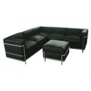 LC3 Sofa Corner Sofa with Ottoman