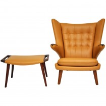 Papa Bear Chair With Ottoman